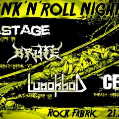 DRUNK ´N´ ROLL NIGHT vol. 3, 21. február 2015, Rock Fabric, Poprad