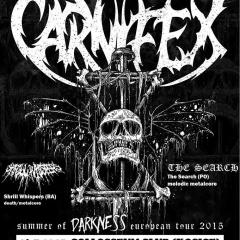 Koncert – Carnifex, Shrill Whispers, The Search, 26. júl 2015, Collosseum Club, Košice