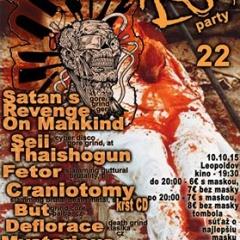 Koncert – FLESH PARTY 22, 10. október 2015, Kino Leopoldov