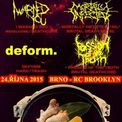 Koncert – GINGER CANDY vol.7, 24. október 2015, Brooklyn Club, Brno