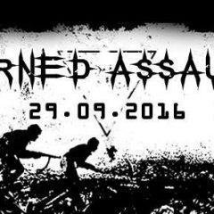 Koncert – HORNED ASSAULT – KILL(SWE), MORTE INCANDESCENTE(PT), MOR(SK) – 29.09.2016, Banská Bystrica, Rock Club Tartaros
