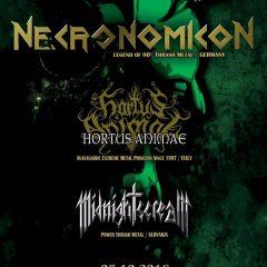 Necronomicon, thrash metalová legenda v Bratislave!