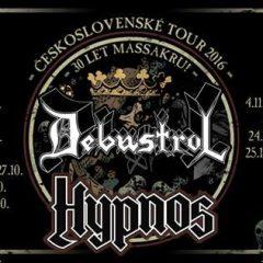 Debustrol a Hypnos sa zastavia v troch slovenských mestách!