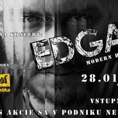EDGAR na svojom turné najbližšie vystúpi v Martine!
