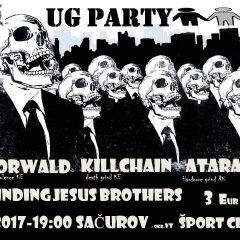 UG Párty v Sačurove v znamení grind-core!
