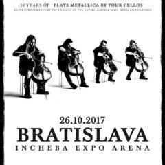 Apocalyptica v Bratislave!