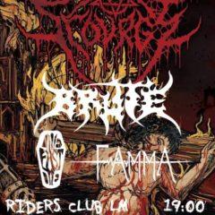 Belgický slam/ brutal death metal Scourge zavíta do Žiliny, Košíc a Liptovského Mikuláša