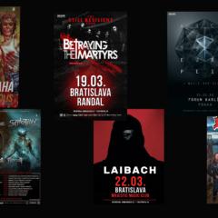 Koncerty pod taktovkou Obscure Promotion v roku 2018