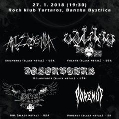 Black metal zahalí o týždeň Banskú Bystricu!!!
