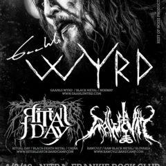 Prvý februárový deň v znamení black metalu v Nitre!