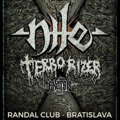 Report – Nile, Terrorizer, Exarsis, Veins – 27. 2. 2018, Randal Club, Bratislava