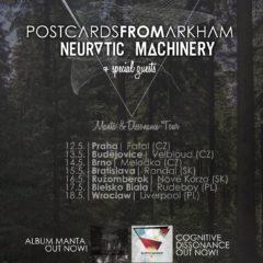 Manta & Dissonance Tour s dvomi zastávkami na Slovensku!!!