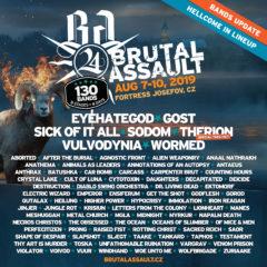 Ďalšie pridané kapely na Brutal Assaulte! Thrash, HC, sludge, aj brutal death metal!