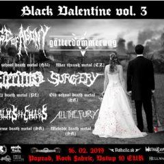 Report – Black Valentine vol. 3 – Rock Fabric – Poprad – 16.2.2019