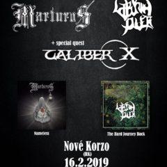 Nameless Journey Back Tour v Ružomberku, alebo Marturos predstavuje nový album!