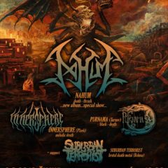 NAHUM túto sobotu v Žiline v rámci WITHIN DESTRUCTION TOUR 2019