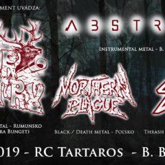Transylvánsky black metal SUR AUSTRU a poľský NORTHERN PLAGUE cez víkend v troch slovenských mestách!