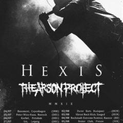 Severania Hexis a The Arson Project už v utorok v Kulturáku!!