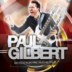 V košickom Collosseu vystúpi 3. októbra gitarový mág Paul Gilbert