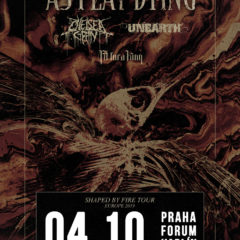 AS I LAY DYING spolu s CHELSEA GRIN, UNEARTH a FIT FOR A KING v Prahe!