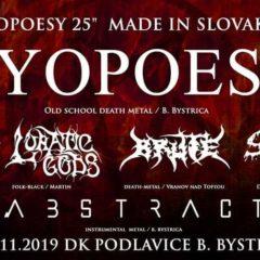 """""""PYOPOESY 25"""" Made in Slovakia tento piatok na domácej pôde pod Urpínom!"""