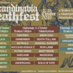 REPORT – Scandinavia Deathfest 2019 – 2.DEŇ