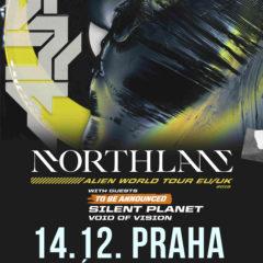 Koncert NORTHLANE, SILENT PLANET, VOID OF VISION v pražskom Akropolise