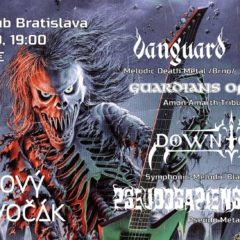 Fotoreportáž – Metalový Dzivočák – Randal Music Club Bratislava – 23.11.2019