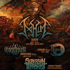 Within Destruction tour 2019 tento víkend v Bratislave!