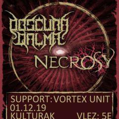Do Kulturáku zavítajú v nedeľu dve talianske black death metalové kapely!