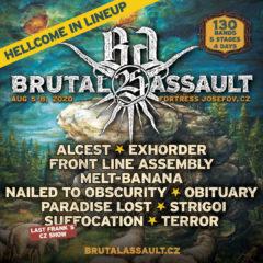 Piaty update Brutal Assault Festivalu!