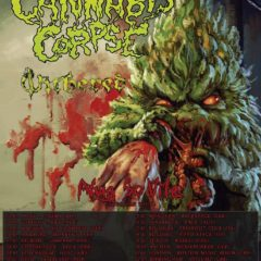 Cannabis Corpse + Withered v Bratislave!