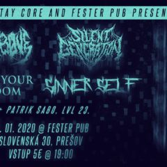 Abyss Above, Silent Generation, Defend Your Kingdom, Sinner Self v Prešove už zajtra!