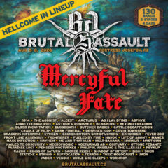BRUTAL ASSAULT #25 má headlinera – MERCYFUL FATE!