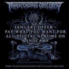 """Transcending Obscurity Records zverejnili """"Label Sampler"""" s mnohými novými singlami – FERAL, EREMIT, JUPITERIAN, HEADS FOR THE DEAD a mnoho ďalších"""