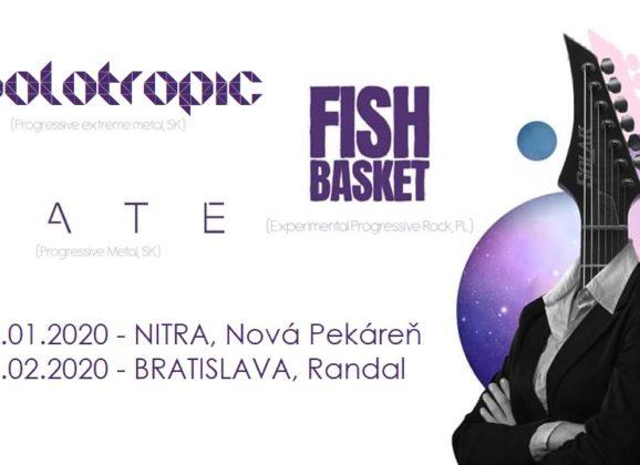 Holotropic, LATE a Fish Basket z Poľska odohrajú nasledujúci víkend koncerty v Nitre a v Bratislave!