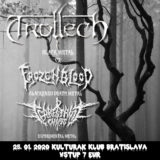 Trollech /CZ/ + Terrestrial Chaos, Frozen Blood v sobotu v Kulturaku v Bratislave