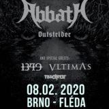Abbath s mocným supportom čo nevidieť v Brne!