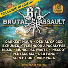 Druhú polovicu zostavy Brutal Assaultu dopĺňa Fleshgod Apocalypse, Municipal Waste alebo Red Fang!