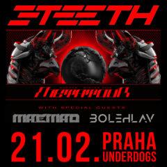Industriálna kapela 3TEETH sa predstaví v Prahe už tento piatok!