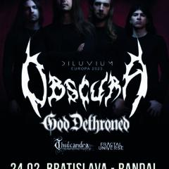 Report – Obscura, God Dethroned, Thulcandra, Fractal Universe – 24. 2. 2020 – Randal Club, Bratislava
