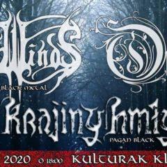 Orkrist, Aeon Winds a Krajiny Hmly odohrajú v Kulturaku túto sobotu!