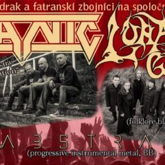 Turné TITANIC a LUNATIC GODS pokračuje tento piatok v Banskej Bystrici!