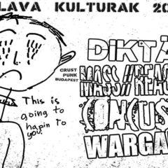 Surová crustovačka v Kulturaku – Mass//Reaction, Concussa, Diktät, Wargame