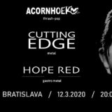 Pozor! Koncert CUTTING EDGE, HOPE RED a ACORNHOEK v bratislavskej Fuge ZRUŠENÝ!