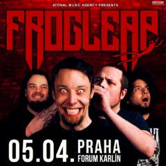 FROG LEAP sa predstavia začiatkom apríla v Prahe!