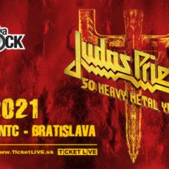 Judas Priest a Saxon zahrajú v Bratislave v náhradnom termíne v roku 2021!