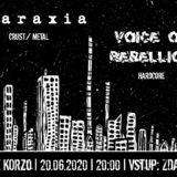 Ataraxia a Voice of Rebellion budúci týždeň v sobotu otvoria koncerty Ružomberku!