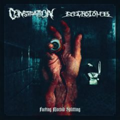 Constipation/Necrotomb – Fucking Morbid Splitting – Immortal Souls Productions, 2020