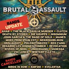 Brutal Assault zverejnil ďalších 20 kapiel, ktoré vystúpia v tomto roku!